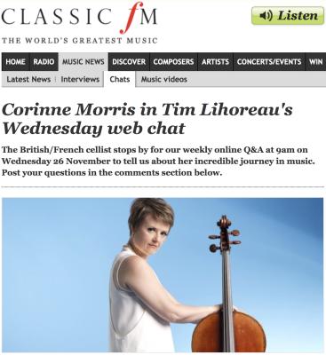 ClassicFMWebchat_CorinneMorris