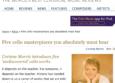 Gramophone Corinne Morris article